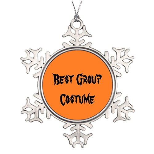 [Xmas Trees Decorated Best Group Costume Cute Christmas Snowflake Ornaments Costumes] (Cute Group Costumes)