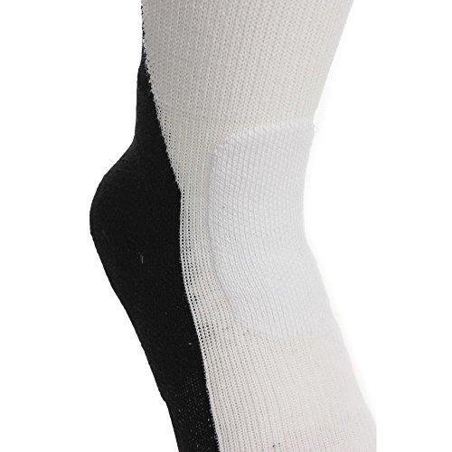 Nike Jordan Jumpman Drifit Crew - Calcetines línea Michael Jordan unisex Blanco / Negro (White/Black/Black)