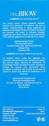 Skin Research Laboratories Neubrow Eye Brow Enhacing Serum, 0.2 fl. oz. by Skin Research Laboratories (Image #1)