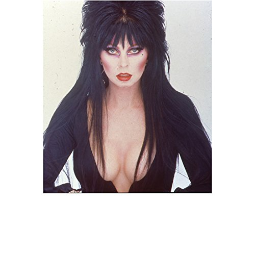Elvira Cassandra Peterson Deep Cleavage Looking Dark and Sexy 8 x 10 Inch Photo