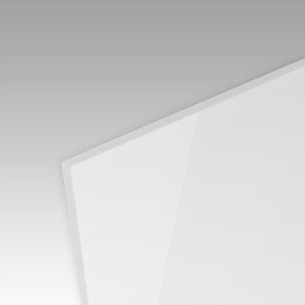 St/ärke: 3 mm Sichtschutz: Ma/ße 70 x 50 cm edle Tischauflage PLEXIGLAS/® kratzfest wei/ß gedeckt WN297 geeignet als K/üchenr/ückwand