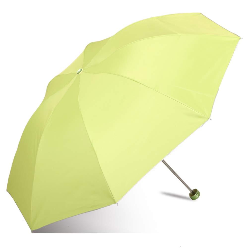 JUNDY Paraguas Plegable a Prueba de Viento de la protección Solar ...