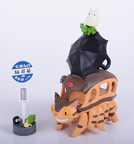 Ensky Studio Ghibli My Neighbor Totoro Cat Bus Tsumu Tsumu from Japan