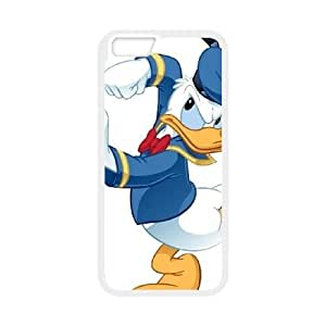 Donald Duck iPhone 6 4.7 Inch Cell Phone Case White yyfabc-390600