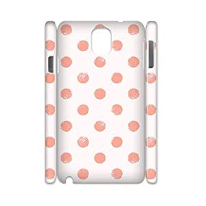 WJHSSB Diy case Polka dot customized Hard Plastic case For samsung galaxy note 3 N9000