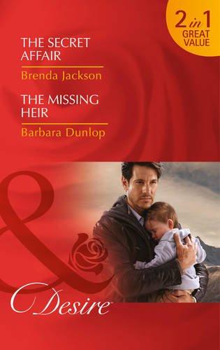 book cover of The Secret Affair / The Missing Heir