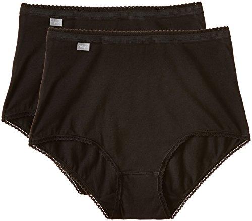 3915 Bikini Baumwoll Playtex Dp 1001 Nero Basic schwarz Da Maxi Donna PwCwIX