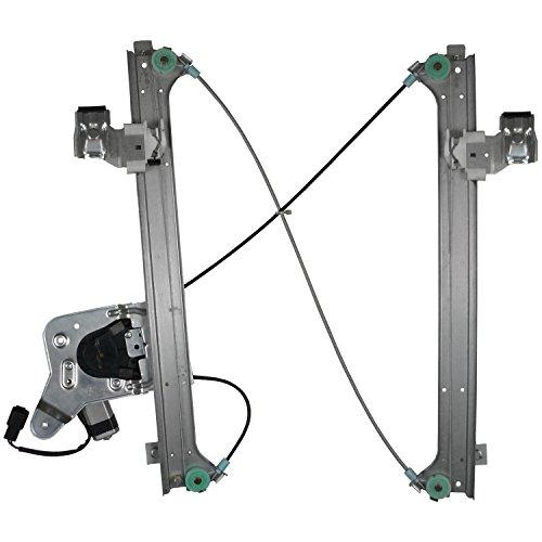 2500 Hd Window Regulator - ACDelco 11A507 Professional Rear Driver Side Power Window Regulator with Motor