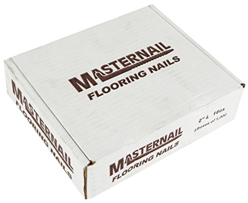 MASTERNAIL man2 16 Gage Premium Power Cleats Metal Flooring L-Nail, 5000 Per Box