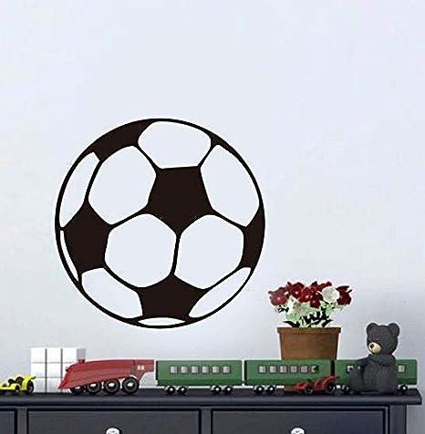 Balón de fútbol de fútbol Etiqueta de la Pared niños niños ...