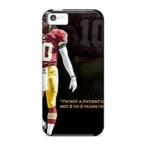 Defender Case For Iphone 5c, Washington Redskins Pattern