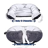 Mamibaby Baby Nest, Baby Lounger Leaves Portable