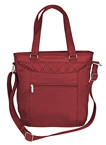 travelon-anti-theft-tote-with-stitching-cranberry-one-size
