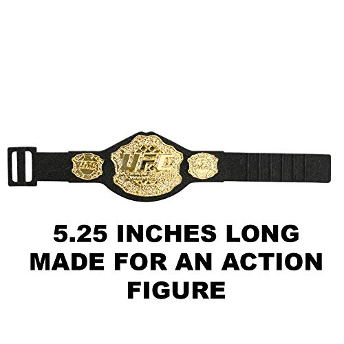 UFC Heavyweight Championship Action Figure Belt by Jakks