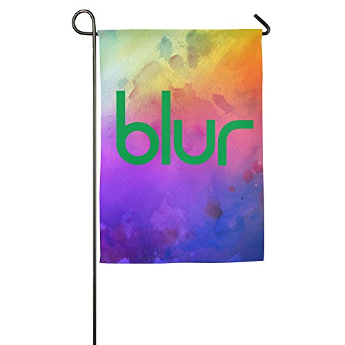 BLUR Band Logo Home Garden Flags (Girls Think Tank)
