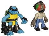 ninja turtle stockman fly - Teenage Mutant Ninja Turtles Pre-Cool Half Shell Heroes Stockman Fly and Slash Figures