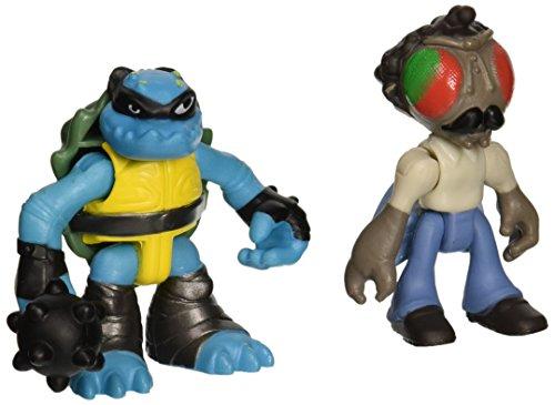 Teenage Mutant Ninja Turtles Pre-Cool Half Shell Heroes Stockman Fly and Slash Figures