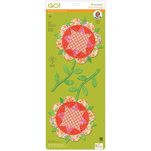 Go! Fabric Cutting Dies-Harrison Rose Block 12 by AccuQuilt