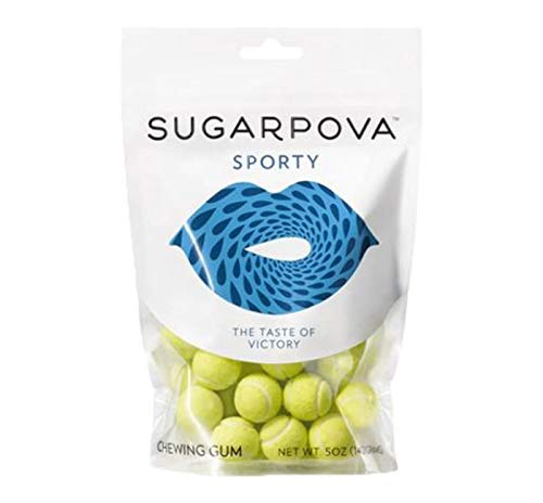 Sugarpova Premium Chocolate Truffles & Candies (Green Tennis Ball Gumballs)