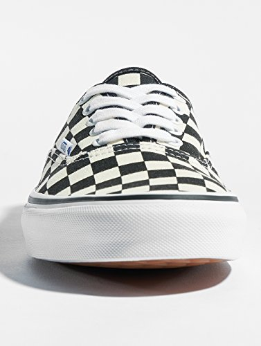 Vans Mode U Black Authentic Mixte checkerboard white Baskets Adulte SwrwTaqt