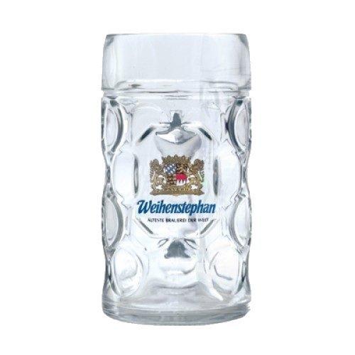 Weihenstephan German Dimpled Beer Stein Mug 1 Liter