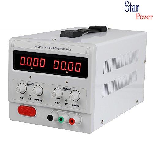 Precision 0-100V,0-3A Adjustable Switch Power Supply Digital Regulated Lab Grade ()