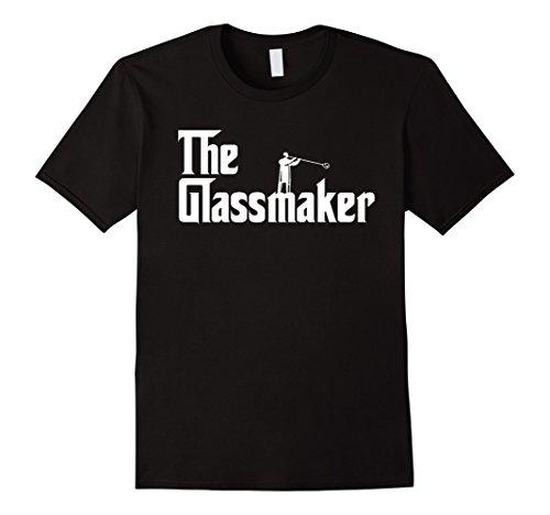 Men's Glass Blowing - The glassmaker T-shirt 2XL Black