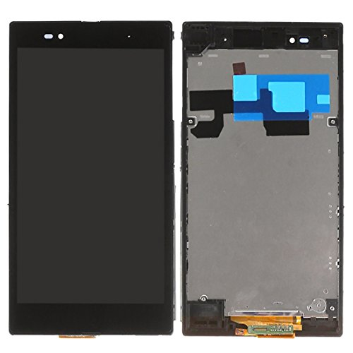Leya for Sony Repair Parts LCD Display + Touch Panel with Frame for Sony Xperia Z Ultra / XL39h(Black) (Color : Black)