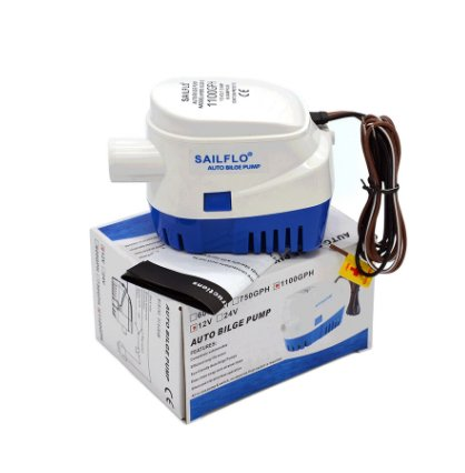 MAXZONE Automatic Submersible Boat Bilge Water Pump 12v 1100gph Auto with Float Switch by MAXZONE (Image #3)