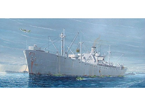 Trumpeter 1/350 Scale SS Jeremiah O'Brien WWII Liberty Ship (Wwii Ship)