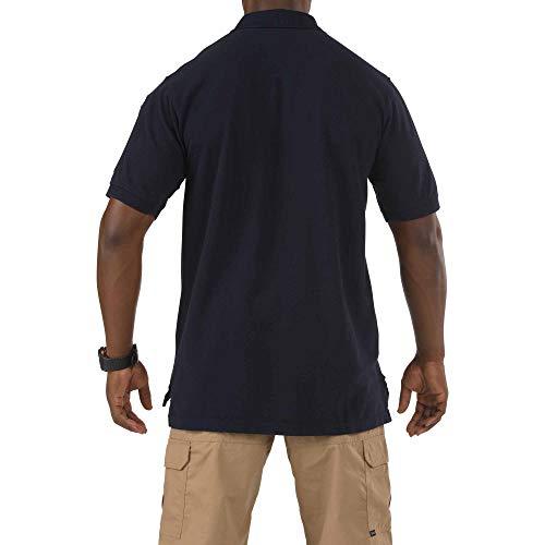 Top de manga marino profesional 41060t corta tactical 11 azul 5 Polo UIw7txgqI