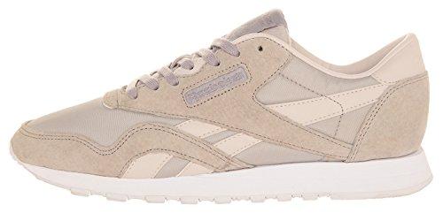 Grau Slim WoMen Cl Nylon Sneakers Reebok Hv Uw0YqZUf