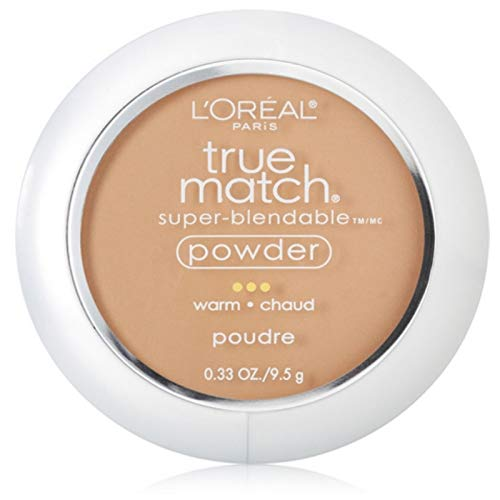 L'Oreal True Match Powder, Sun Beige [W6], 0.33 oz (Pack of 2)