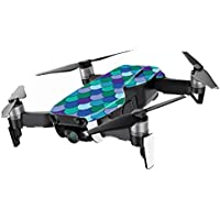 MightySkins Skin for DJI Mavic Air Drone - Blue Scales | Min Coverage Protective, Durable, and Unique Vinyl Decal wrap cover | Easy To Apply, Remove, and Change Styles | Made in the USA