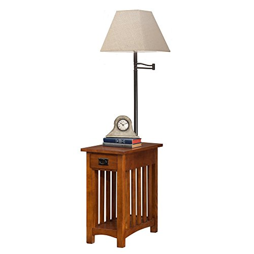 Leick Mission Chairside Swing Table product image