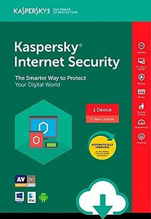 Kaspersky Internet Security ESD - 3 Device [PC/Mac Online Code]