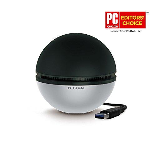 D-Link DWA-192 USB 3.0 802.11a/b/g/n/ac Wi-Fi Adapter
