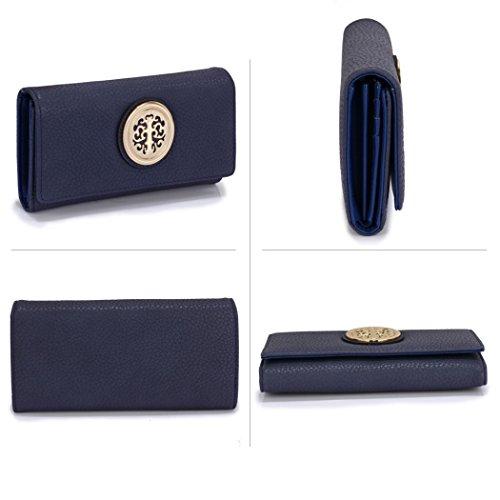PURSE Cute Leather Bags LeahWard Wallet RED Faux Coin Handbags Purse Bag Women's Chic Little Purses PURSE 368 NAVY Quality Clutch 1qEPxfHw