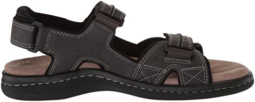 Sporty Leather Dockers Grey Sandal Men's Newpage Tqnw0AS