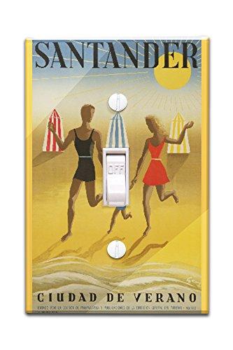 spain-santander-artist-geruy-c-1942-vintage-advertisement-light-switchplate-cover