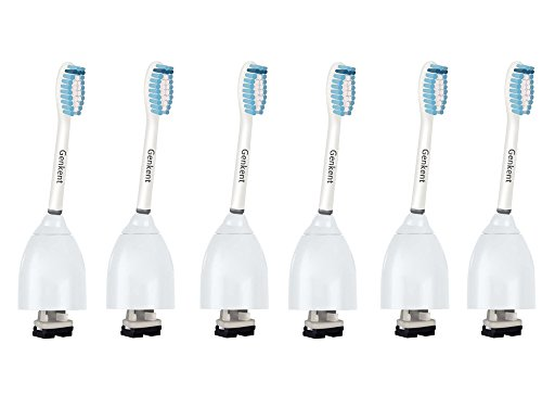 Price comparison product image Genkent Replacement Sensitive Toothbrush Heads for Philips Sonicare e-Series HX7056 4 Counts (6)