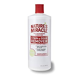Nature\'s Miracle Stain & Odor Remover, 32-Ounce Pour Bottle (5125)