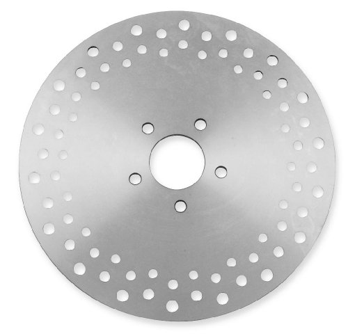 Smoothie Rotors - Bikers Choice Rear Smoothie Brake Rotor for Harley Davidson 2000-13 Big Twin (e - One Size