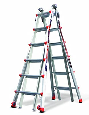 Little Giant RevolutionXE 300-Pound Duty Rating Multi-Use Ladder