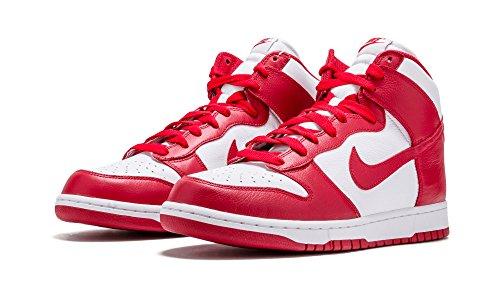 Nike Herre 850477-101 TurnSko Hvid Universitet Rød 102 U3QPI