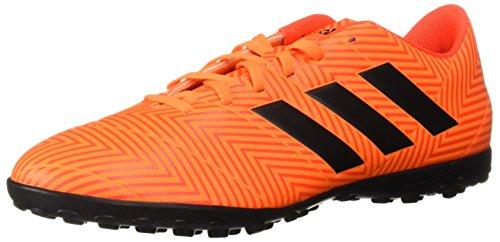 adidas Men's Nemeziz Tango 18.4 Turf Soccer Shoe, Zest/Black/Solar Red, 11.5 M US (Artificial Turf Ball)
