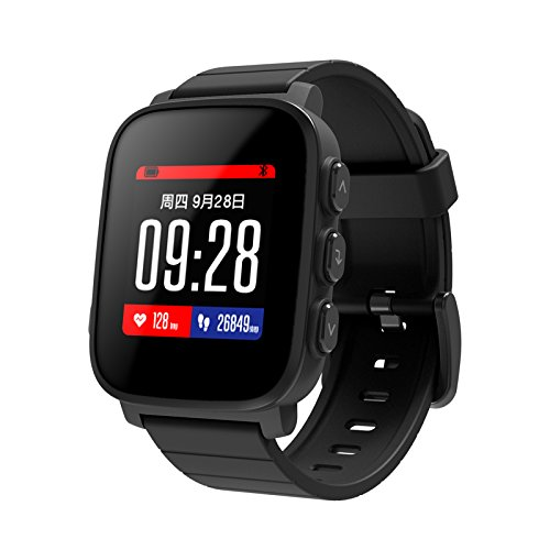 Amazon.com: SMA Q2 Smart Watch Bluetooth 4.0 Heart Rate ...