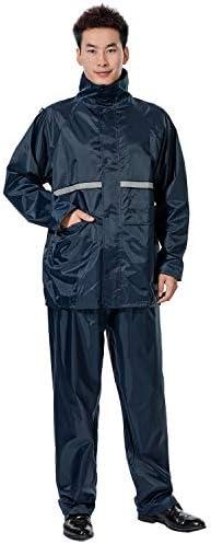 [スポンサー プロダクト]LANYI レインウェア 上下セット メンズ レディース レインスーツ レインコート 雨具 カッパ ゴルフ バイク 自転車 登山 アウトドア 梅雨・台風対策 防水 収納袋付き 男女兼用