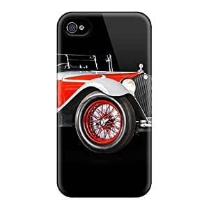 Cute Appearance Cover/tpu UhMKyIO6976AAjDt Alfa Romeo 8c 2300 Tourer 1933 Case For Iphone 4/4s