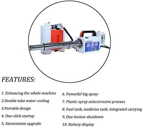 霧のマシン消毒噴霧器高圧電気スプレースプレー霧デバイス集塵果樹園用家庭および公共の場所殺菌